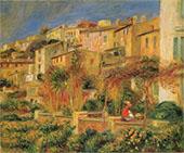 Terrace at Cagnes 1905 By Pierre Auguste Renoir