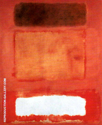 No 16 Red White and Brown By Mark Rothko