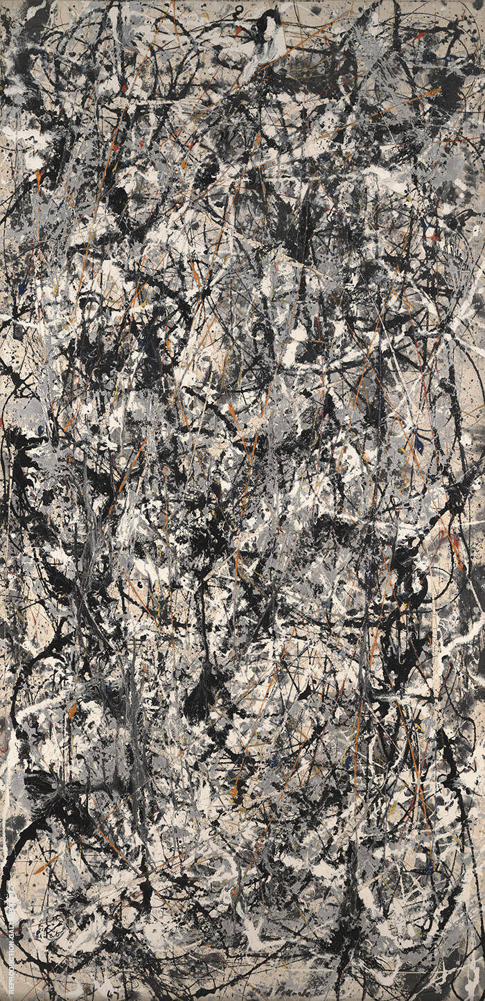Cathedral 1947 By Jackson Pollock - Oil Paintings & Art Reproductions - Reproduction Gallery