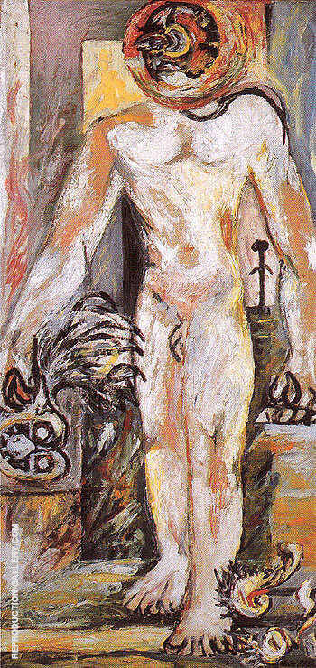 Naked Man 1938 By Jackson Pollock - Oil Paintings & Art Reproductions - Reproduction Gallery