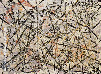 Number 13 1949 By Jackson Pollock