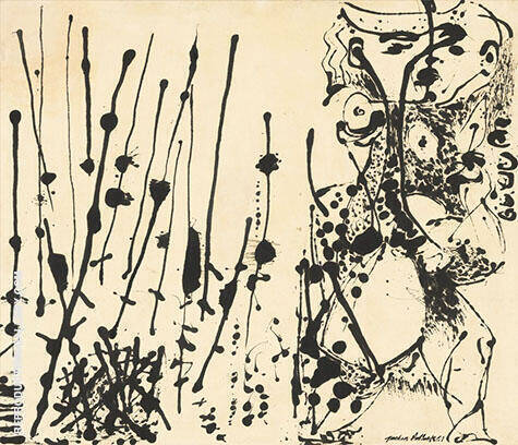 Number 7 1951 By Jackson Pollock