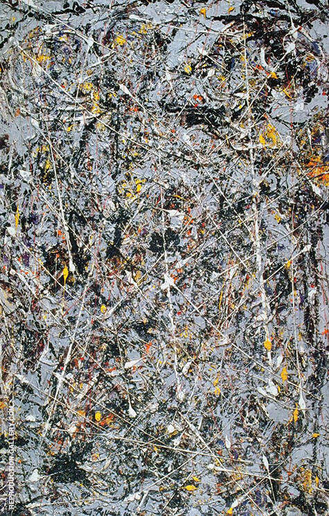 Phosphorescence 1947 By Jackson Pollock - Oil Paintings & Art Reproductions - Reproduction Gallery