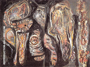 Untitled 1940 By Jackson Pollock