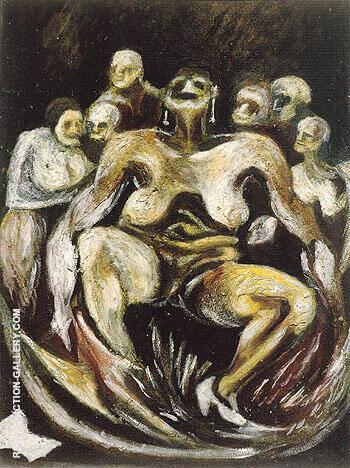 Woman 1930 By Jackson Pollock