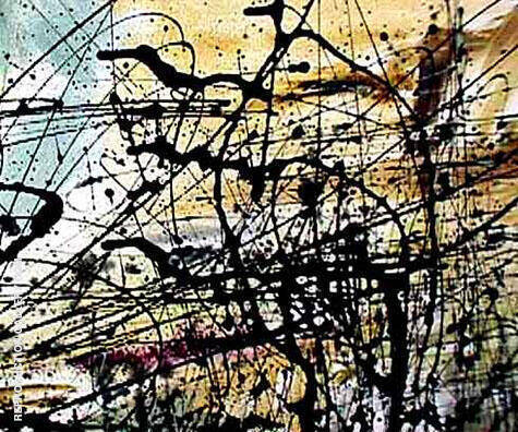 Reproduction of Number 15 by Jackson Pollock | Oil Painting Replica On CanvasReproduction Gallery