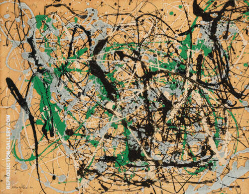 Number 17 1949 By Jackson Pollock