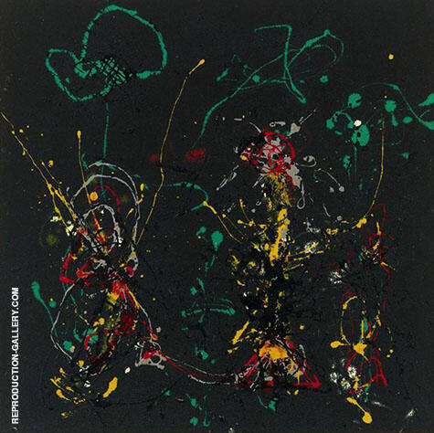 Number 17 1950 By Jackson Pollock - Oil Paintings & Art Reproductions - Reproduction Gallery
