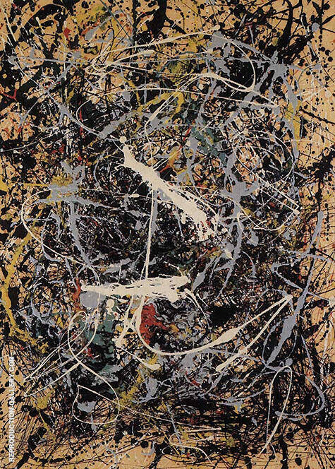Number 19 1949 Painting By Jackson Pollock - Reproduction Gallery