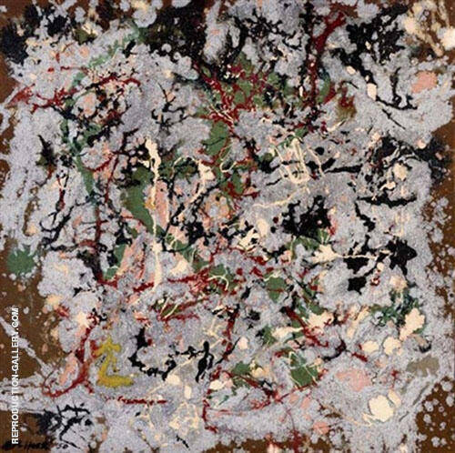 Reproduction of Number 21 by Jackson Pollock | Oil Painting Replica On CanvasReproduction Gallery