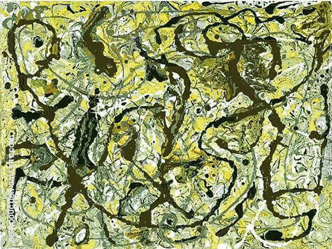 Tudor City By Jackson Pollock Replica Paintings on Canvas - Reproduction Gallery