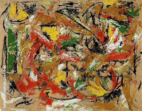 Untitled c1953 By Jackson Pollock