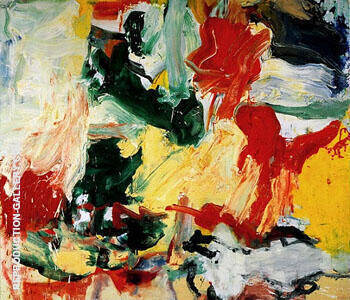 Untitled II By Jackson Pollock - Oil Paintings & Art Reproductions - Reproduction Gallery