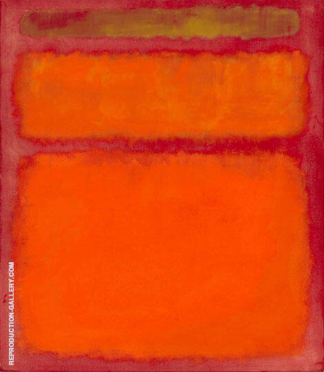 Orange Red Yellow 1961 Painting By Mark Rothko - Reproduction Gallery