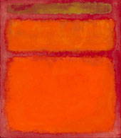 Orange Red Yellow 1961 By Mark Rothko (Inspired By)