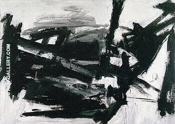 Lehigh 1956 Painting By Franz Kline - Reproduction Gallery