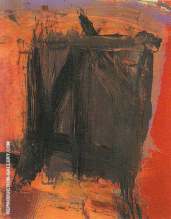 Head For Saturn 1961 By Franz Kline