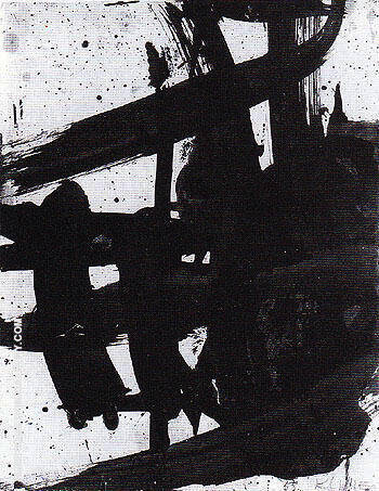 Study for Turbin 1959 By Franz Kline