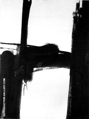 Black and White No 2 1960 By Franz Kline