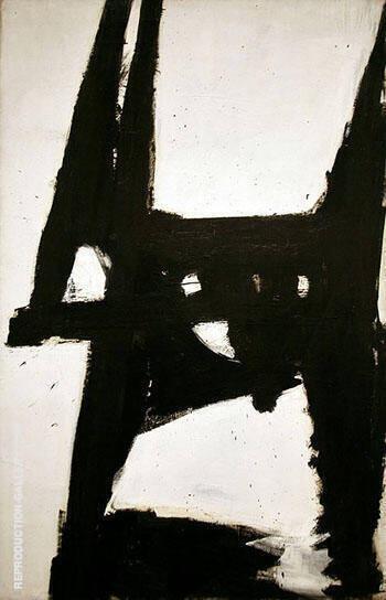 Four Square 1958 By Franz Kline