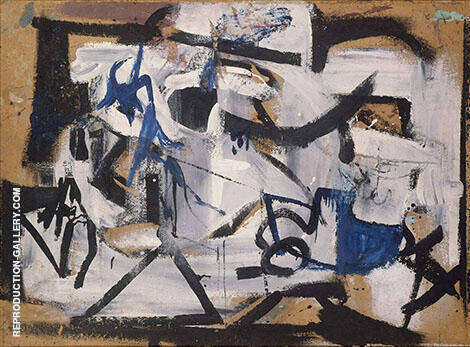 Gray Abstraction 1949 By Franz Kline