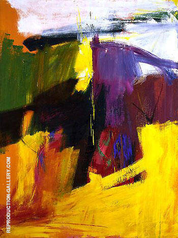 Henry H II c1959 By Franz Kline - Oil Paintings & Art Reproductions - Reproduction Gallery