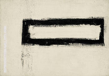 Herald c1953 Painting By Franz Kline - Reproduction Gallery