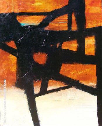 Homage II By Franz Kline