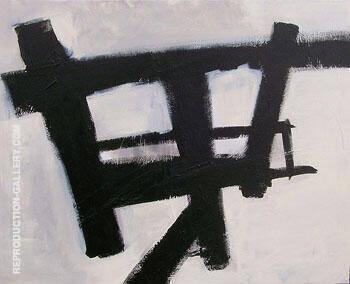 Homage Study I By Franz Kline
