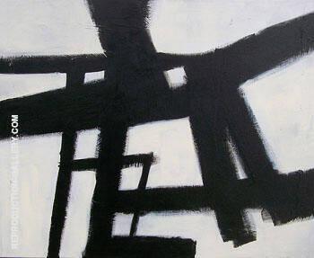 Homage Study II By Franz Kline