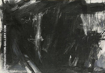 Laureline 1956 By Franz Kline Replica Paintings on Canvas - Reproduction Gallery