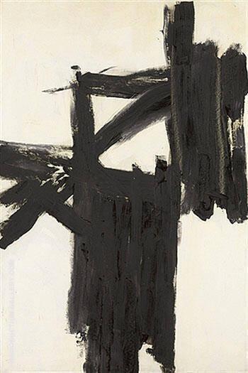 Mars Black and White 1959 By Franz Kline
