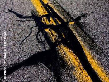 Meets Yellow Lines By Franz Kline