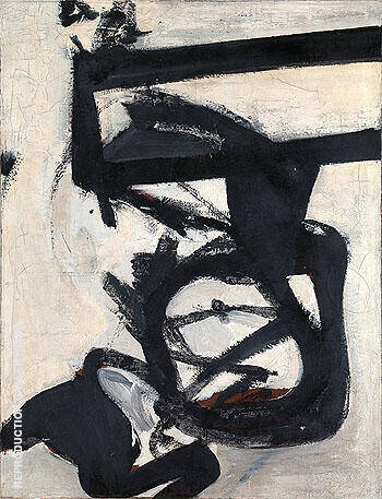 Reproduction of Nijinsky 1950 by Franz Kline | Oil Painting Replica On CanvasReproduction Gallery