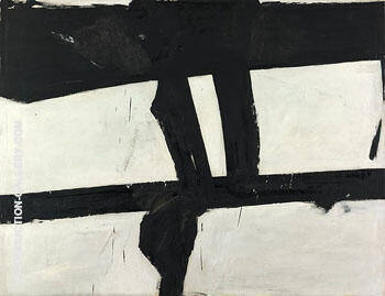 Painting 1952 Painting By Franz Kline - Reproduction Gallery