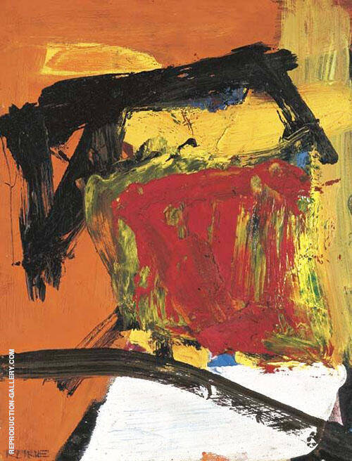 Red Field 1955 Painting By Franz Kline - Reproduction Gallery