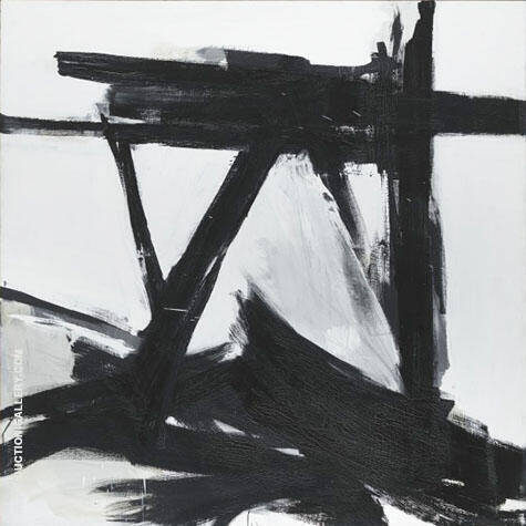 The Ballantine By Franz Kline Replica Paintings on Canvas - Reproduction Gallery