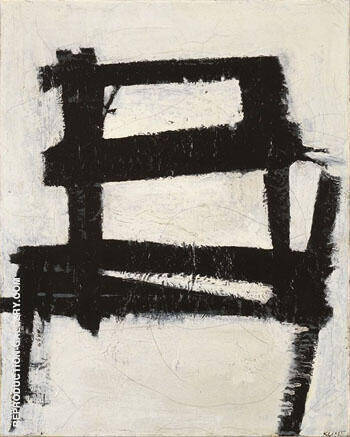 The Chair 1950 By Franz Kline - Oil Paintings & Art Reproductions - Reproduction Gallery