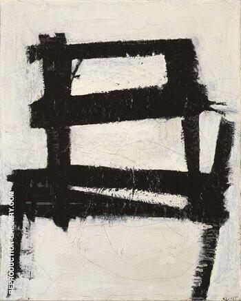 The Chair 1950 By Franz Kline