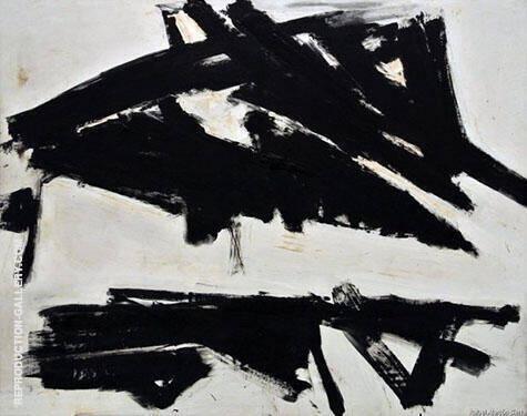 Andes 1957 By Franz Kline