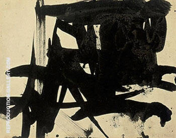 Untitled 1953 I By Franz Kline