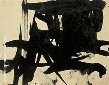 Untitled 1953 I By Franz Kline