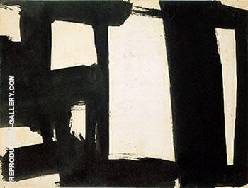 Untitled 1953 A By Franz Kline