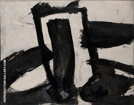 Untitled 1952 B By Franz Kline - Oil Paintings & Art Reproductions - Reproduction Gallery