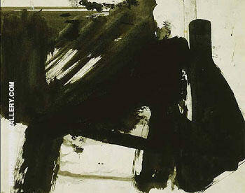 Untitled B 3063 By Franz Kline