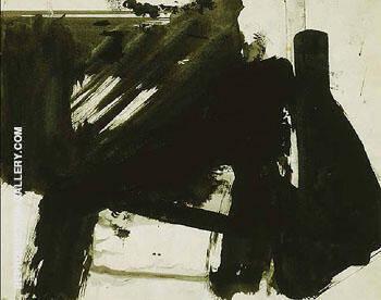 Untitled B 3063 By Franz Kline