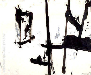 Untitled 1952 C By Franz Kline