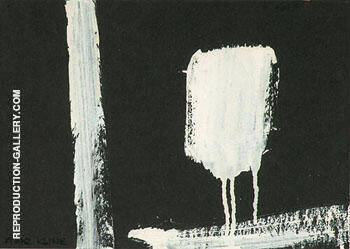 Untitled D 3069 By Franz Kline