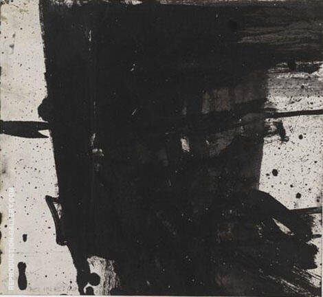 Untitled Study for Mahoning II 1960 By Franz Kline