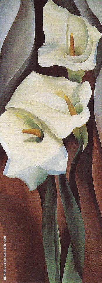 Calla Lilies 1924 460 By Georgia O'Keeffe